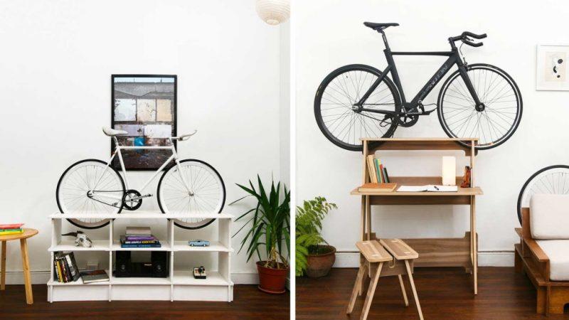 ciclista urbano muebles de dise o para guardar tu bici